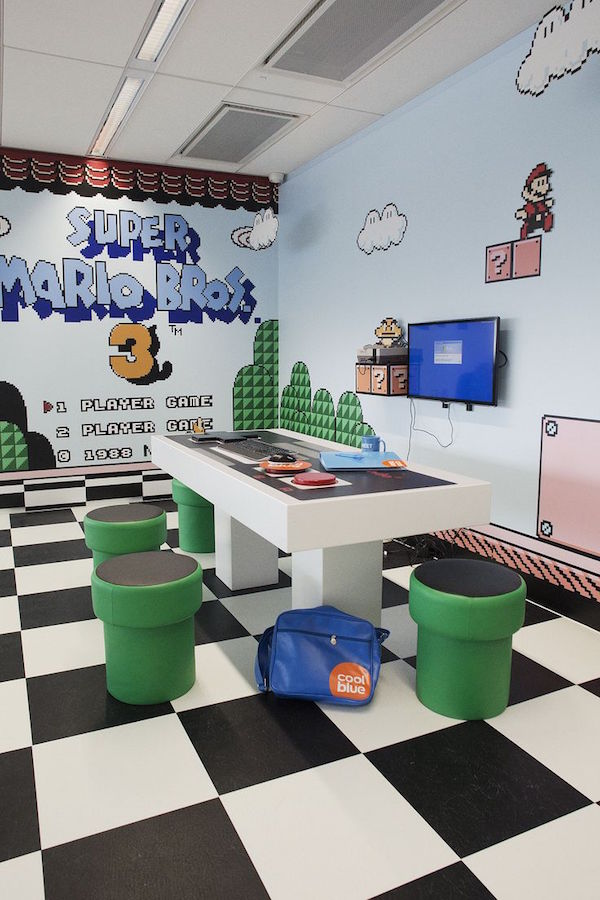 Inspiration mario themed room for your kids evercoolhomes - Cool themed houses ...