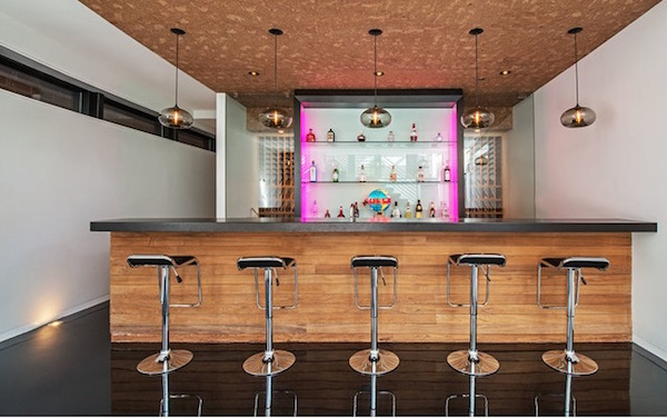 25 contemporary home bar design ideas evercoolhomes for Home lounge design ideas