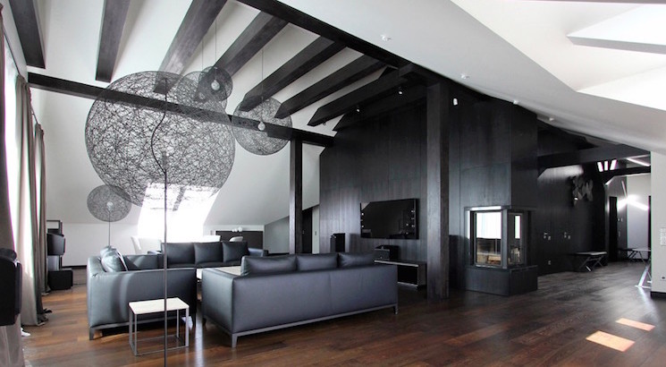 20 Inspiring Black and White Living Room Designs | EverCoolHomes