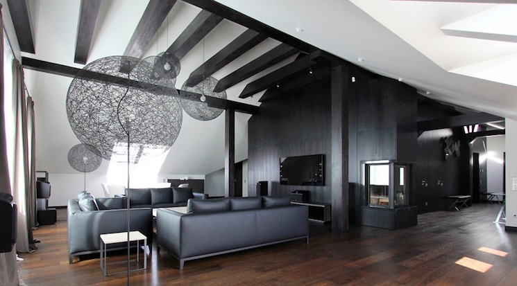 20 inspiring black and white living room designs Black and white room designs
