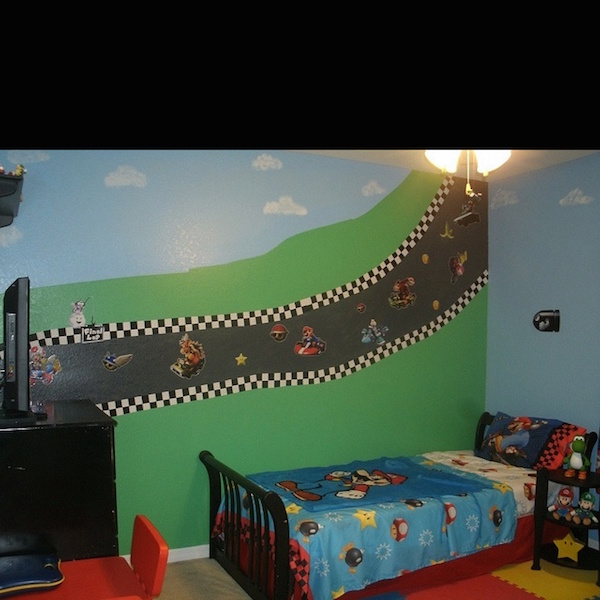 Inspiration : Mario Themed Room For Your Kids