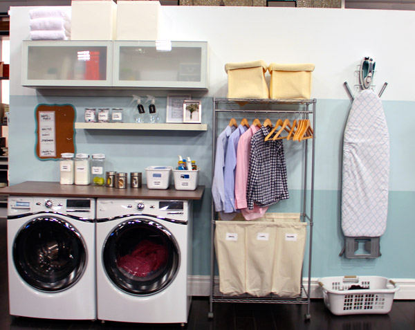 orgazine laundry room - How To Make Your Room Organized