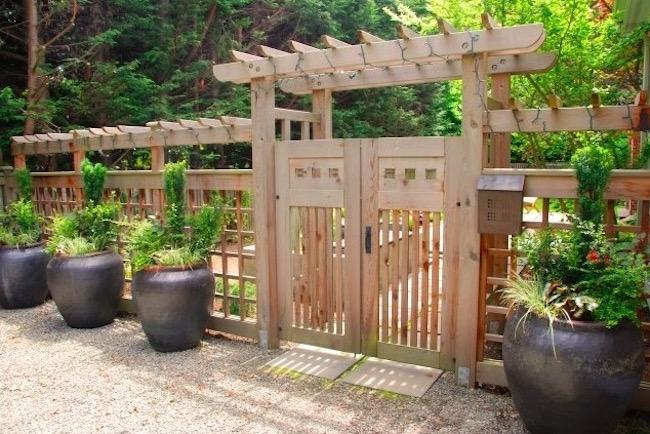 Front Yard Fence Designs 16 amazing wooden fence design ideas evercoolhomes fence design ideas front yard workwithnaturefo