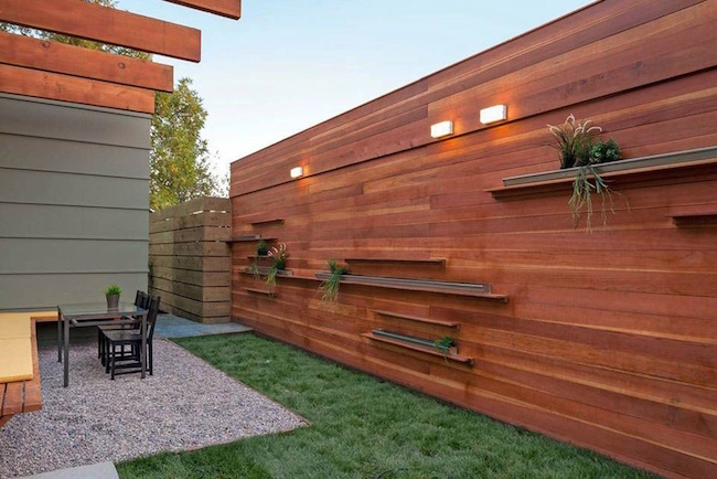 16 amazing wooden fence design ideas evercoolhomes fence design ideas workwithnaturefo