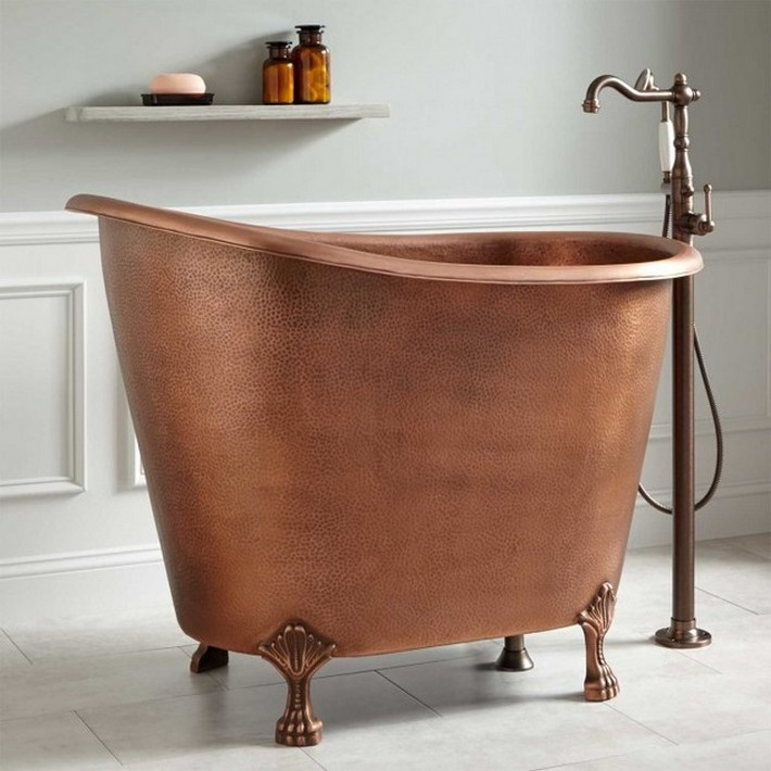 10 Beautiful Mini Bathtubs for Small Bath Spaces | EverCoolHomes