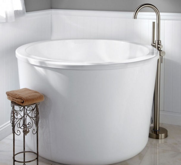 10 beautiful mini bathtubs for small bath spaces - Soaking tubs for small bathrooms ...