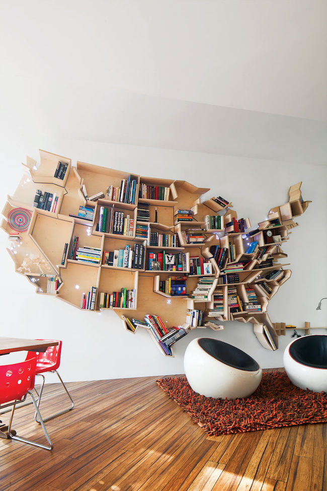 22 Unusually Creative Bookshelves For Book Lovers