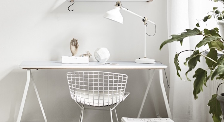 20+ Trendy Minimal Home Office Design Ideas | EverCoolHomes