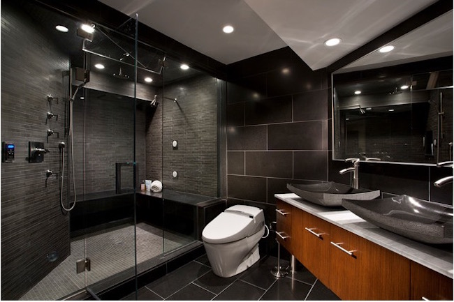 15+ Bold and Beautiful Black Bathroom Design Ideas | EverCoolHomes