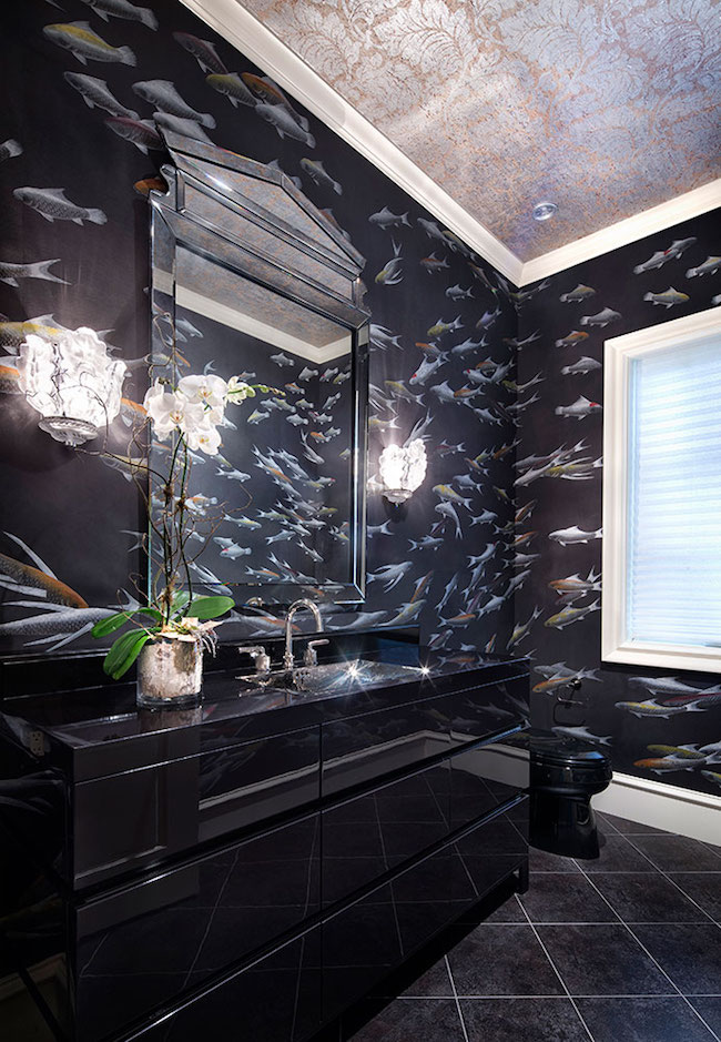 15 Bold And Beautiful Black Bathroom Design Ideas Evercoolhomes