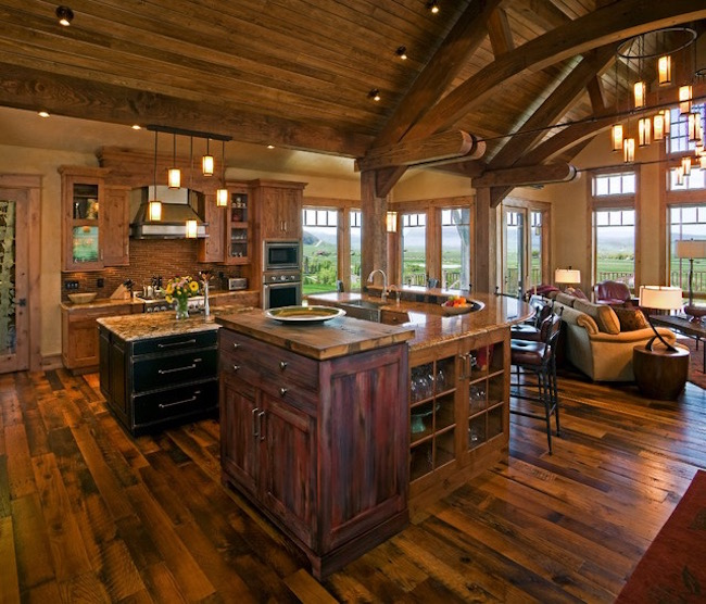 15 Lovely Open Kitchen Designs That Will Leave You