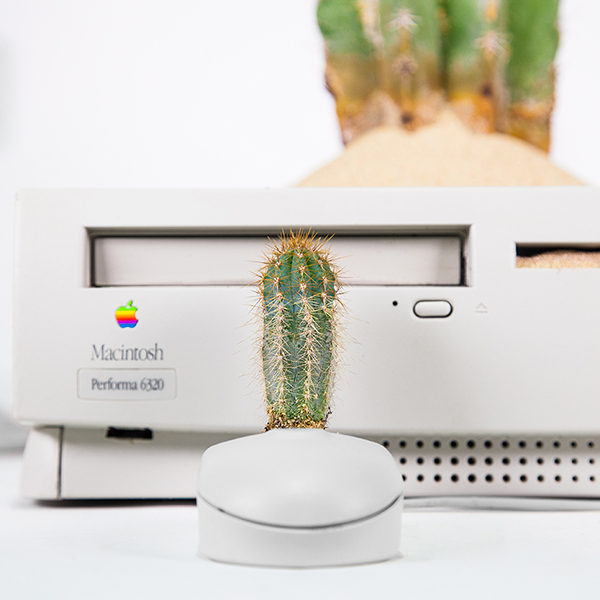 Artist Turns Old Apple Computers Into Plant Pots-18