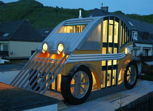Weird And Cool Homes Around the World | EverCoolHomes